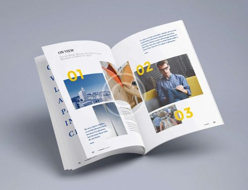 Custom View Magazine Design